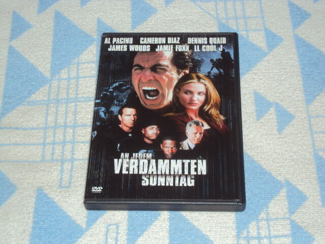 An jedem verdammten Sonntag (2007) DVD Al Pacino