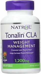 Tonalin CLA by Natrol, 60 gelcap 1 pack