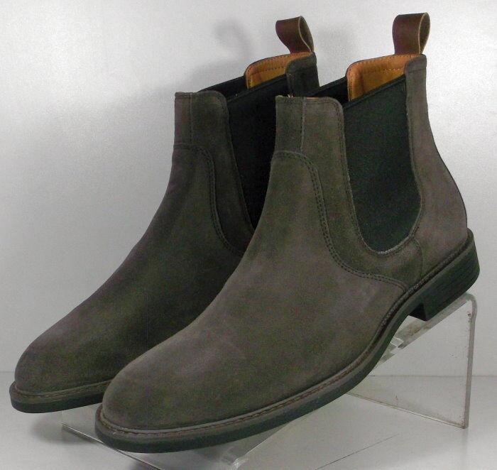 203969 msbt 50 para hombres zapatos M gris botas De Gamuza Johnston & Murphy