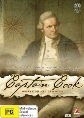 1 of 1 - Captain Cook - Obsession And Discovery (DVD, 2008) Genuine (D117/D167) (D166)