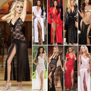 Sexy-Lingerie-Sleepwear-Women-G-string-Underwear-Babydoll-Nightwear-Dress-Lot