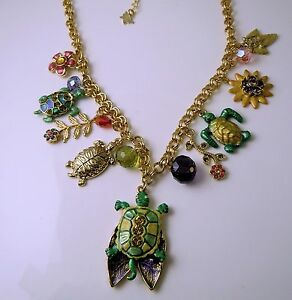 KIRKS-FOLLY-Love-Turtles-Charm-Necklace
