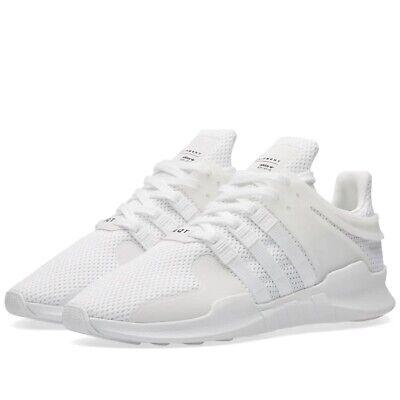 Adidas Originals EQT Equipment ADV Running Men's Trainers Shoes BA8322 All White | eBay