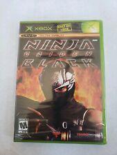 Ninja Gaiden Black Microsoft Xbox 2005 For Sale Online Ebay