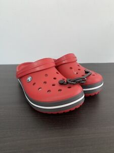 Crocs Unisex Red Pepper Relaxed Fit Uk Mens Uk 5 BRAND NEW UNBOXED