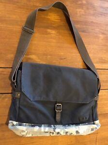 a8158160d Levi's Levis Canvas Messenger Crossbody Laptop Bag Adjustable Straps ...