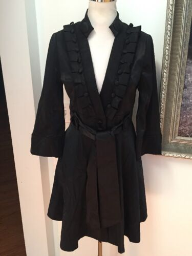 Trench Ruffle Pleated M Tie Belt Nwt Sort Plastic Anthropologie Island wUxRFnqHv4