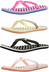 best service 150b7 289e0 Image is loading adidas-Women-039-s-Eezay-Flip-Flops-4-