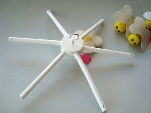 how to make a baby mobile hanger