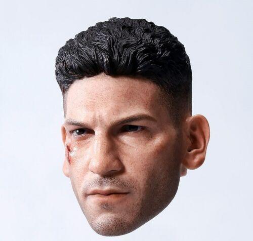 """1//6 Punisher Joe bonnsee Cabeça Esculpida Esculpida Model F 12/"""" Brinquedos De Corpo Boneco Macho"""