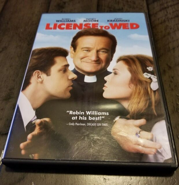 ** License To Wed (DVD, 2007) ** Robin Williams