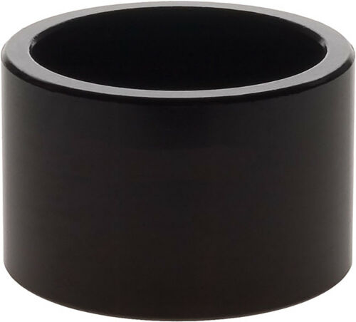 NEW Wheels Manufacturing 20mm 1 Headset Spacer Black Each