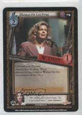 2002 Buffy the Vampire Slayer Collectible Card Game #174 Morality Lecture 0b4