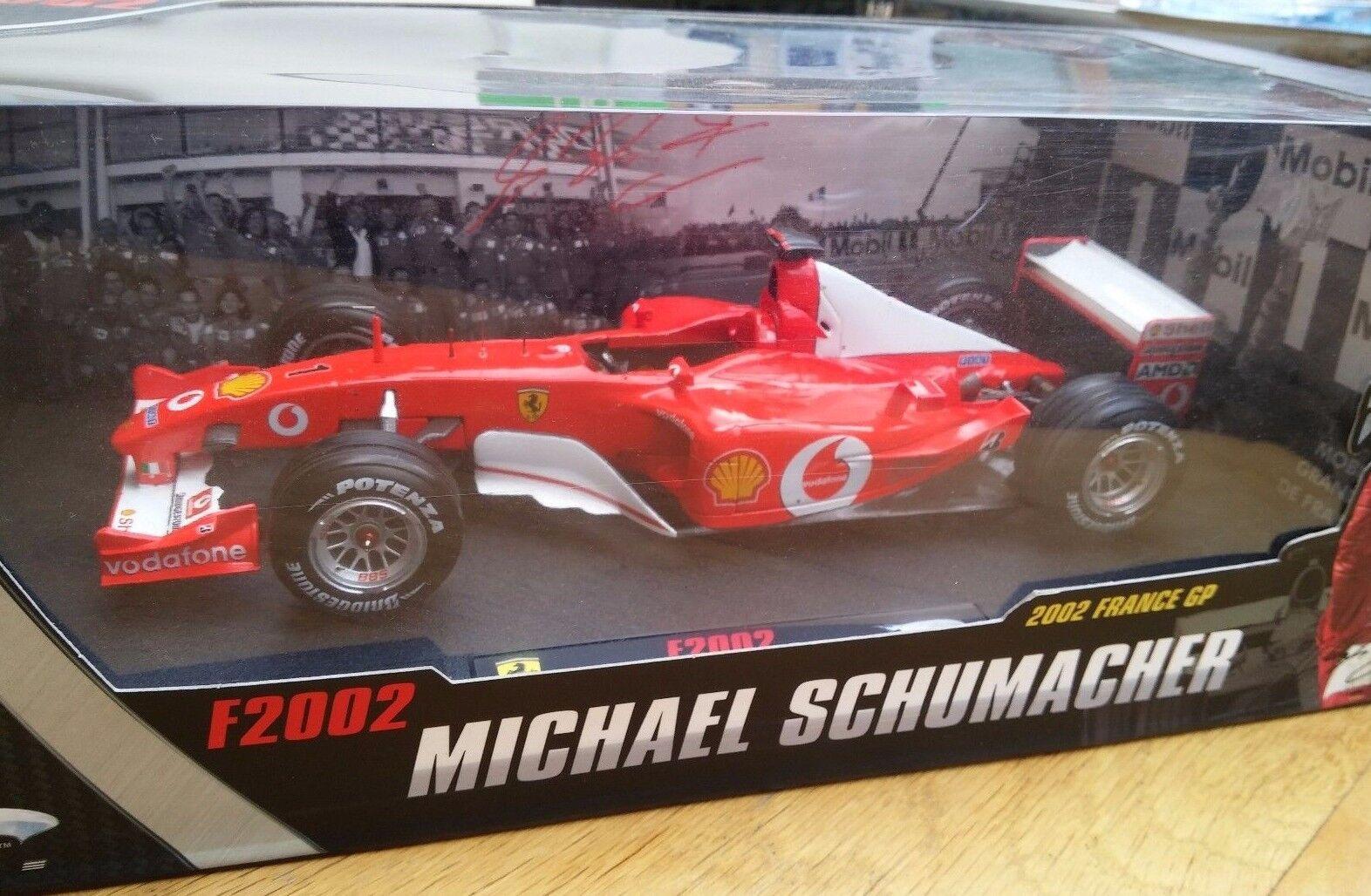Mattel N2074 N2075 N2076 N2077 F1 Modelo de Coche M Schumacher 2000 01 02 2003 1 18th