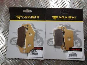 Brake Pad Set Front & Rear For Gas Gas EC 250 Sixdays GG-E2511-SIX 2011