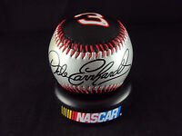 Dale Earnhardt Sr. Race Ball, Nascar Baseball W/plastic Case & Display Stand