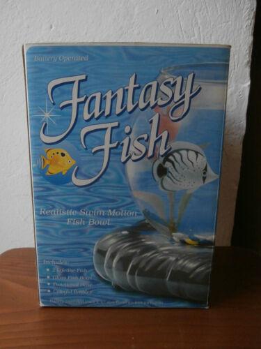 ** Acquario realistico Fantasy Fish  boccia vetro pesci che nuotano fish bowl **
