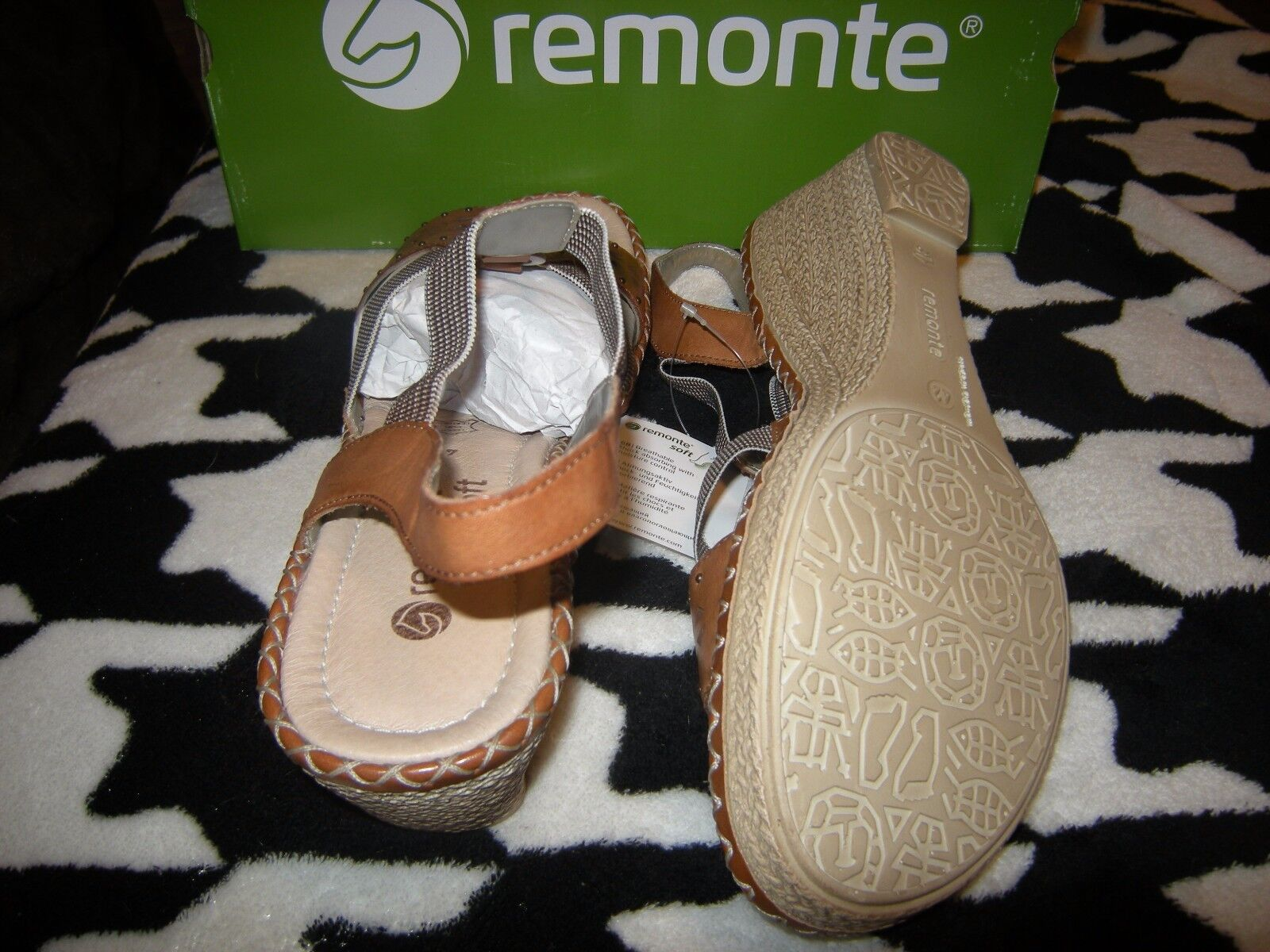 Brand Brand Brand New Womens Brown Remonte Sandals, Size 10  42 70d114