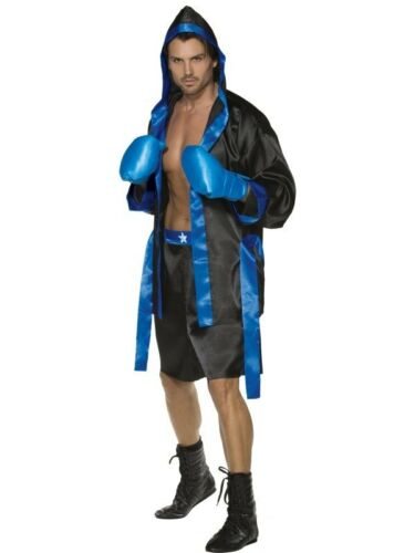 Fever Down for the Count Boxer Medium Mens Fancy Dress Stag Party Costume Outfit