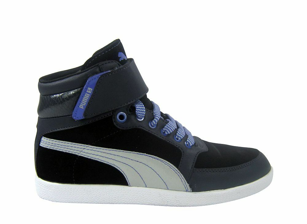 Puma skylaa skylaa skylaa soit + 's Ebony/Gray-violet/Black Chaussures/Basket  noir 14b2eb