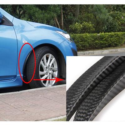 2x Radlauf Verbreiterung ABS Kotflügelverbreiterung Leisten für Fiat Punto Evo
