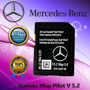 Details about 2015-2017 Mercedes-Benz SD Card GPS Navigation GLC E C-Class  Garmin Map Pilot