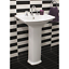 NEW R.A.K Washington White Bathroom Pedestal Basin 611581