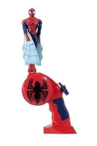 Bambini Super Eroe Flying Spiderman Figura Pull String Flying Giocattolo Regalo
