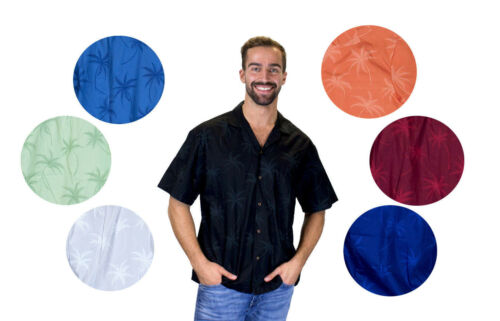 diversi Ky's Palmshadow Colori Shirt Hawaiian Original RwTOBqg0