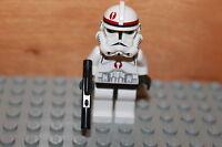 Lego Star Wars - Clone Commander Captain Nayo Figur mit Waffen aus Set 7250