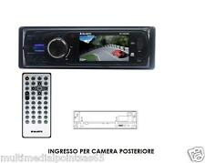 "AUTORADIO RDS FM STEREO USB/MMC/AUX/AV IN MONITOR 3"" TFT LCD MPEG4 JPEG MP3"