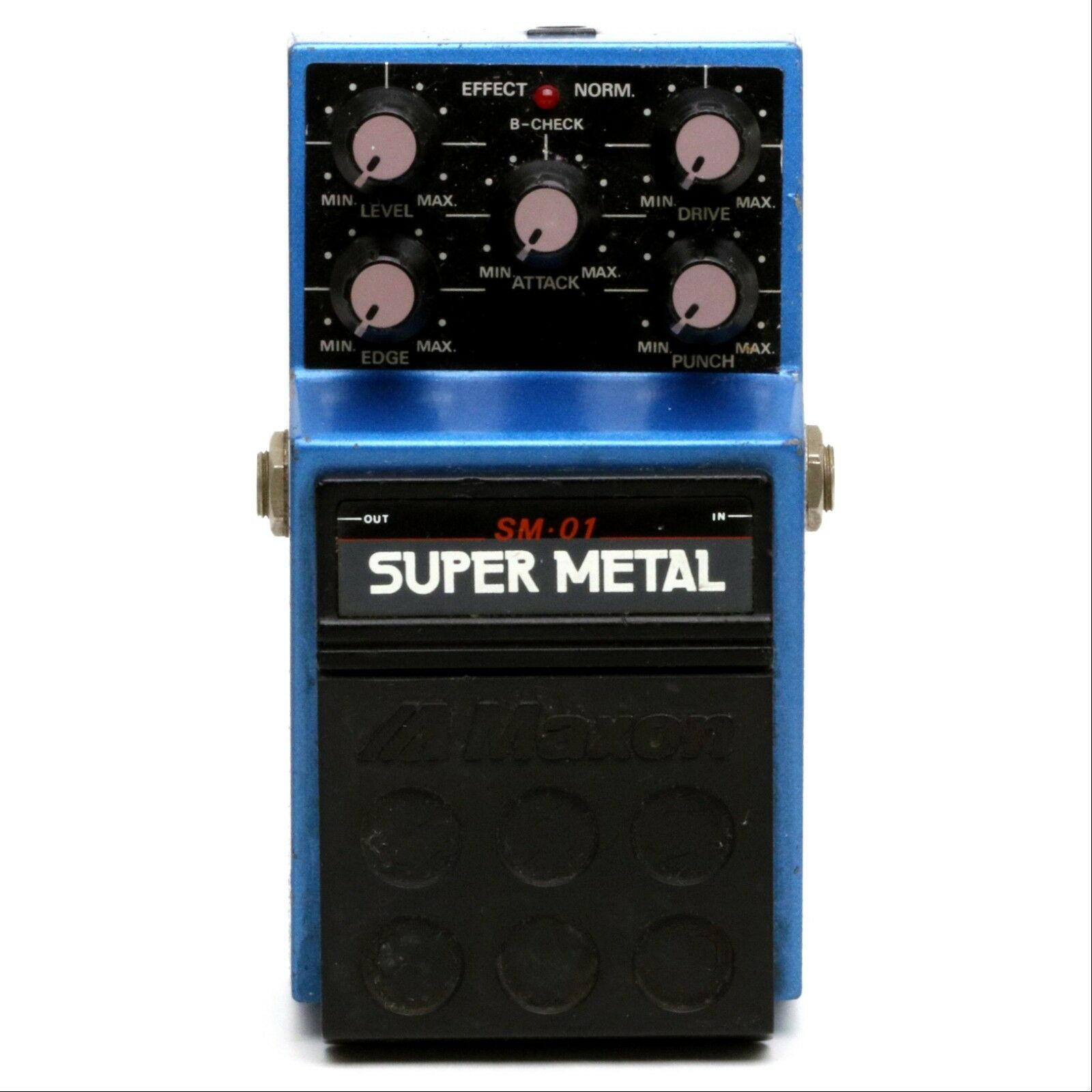 Adapter ONLY - Maxon SM-01 SUPER METAL Guitar Effect Pedal Made in Japan