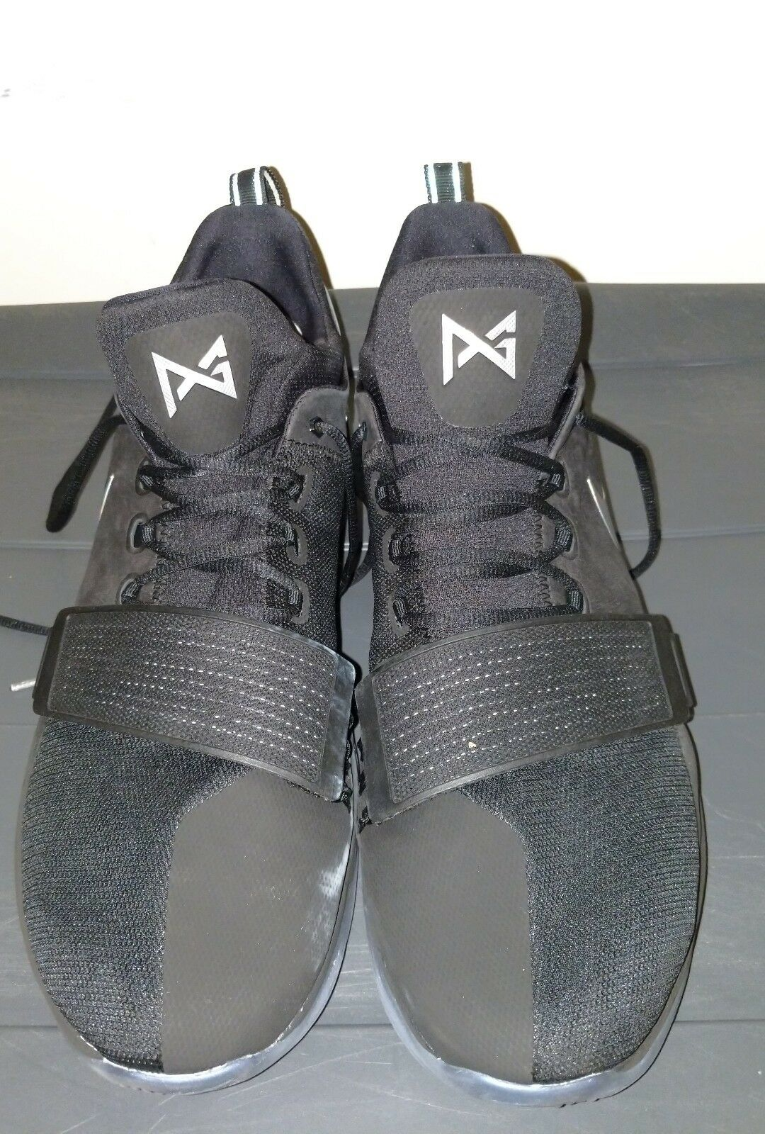 Nike PG 1 TS Prototype SZ George. 17. Pre-Heat Shining Paul George. SZ Receipt. 911082-099 904e6e