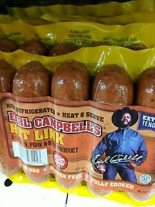 Earl-Campbell-039-s-Hot-Link-Sausage-14-Oz-4-Pack