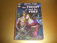 THE FOREST AND THE FORT by HERVEY ALLEN, DELL BOOK #D110, 1943, VINTAGE PB!
