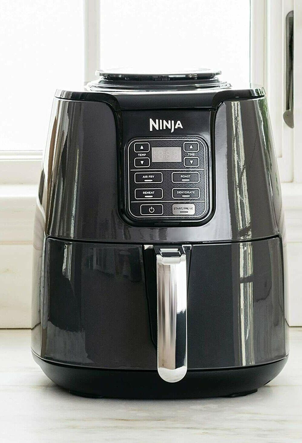 OB25C Ninja Air Fryer 4qt  Guilt Free Fried Food Black AF101 Shark