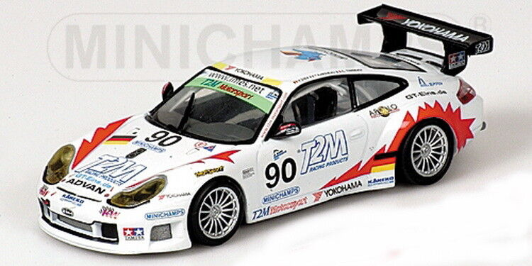 Scale model , PORSCHE 911 GT3-RS - TEAM T2M MOTORSPORT - 1000KM SPA 2004