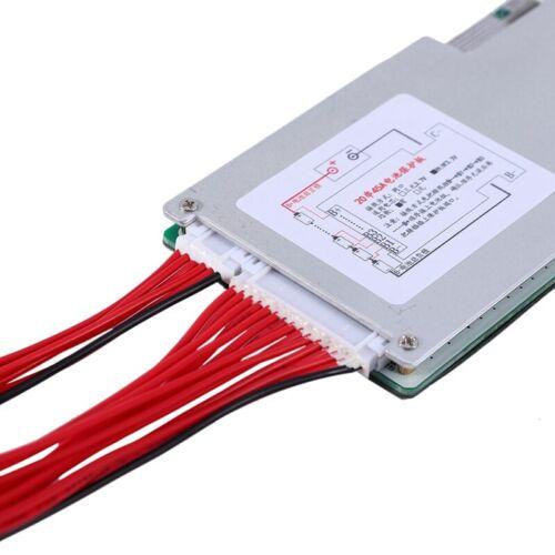 20S 60V 45A LiFePo4 Batterie Schutz Board BMS PCB mit Balance für Motorrad  X1P3