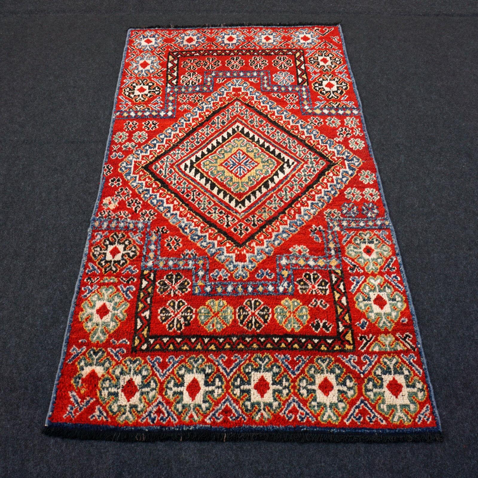 Orient alfombra bereber 200 x 109 cm de Marruecos oriental Carpet Rug tappeto tapis