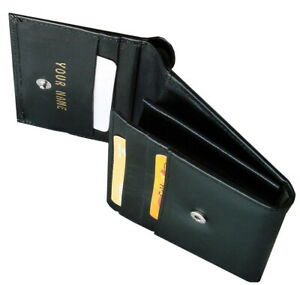 Ladies purse Personalised with any name Wallet Coins Credit cards Cows leather