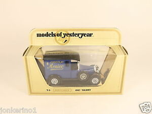 MATCHBOX-MODELS-OF-YESTERYEAR-Y-5-1927-TALBOT-VAN-1978-LESNEY-NIB-OG3-010
