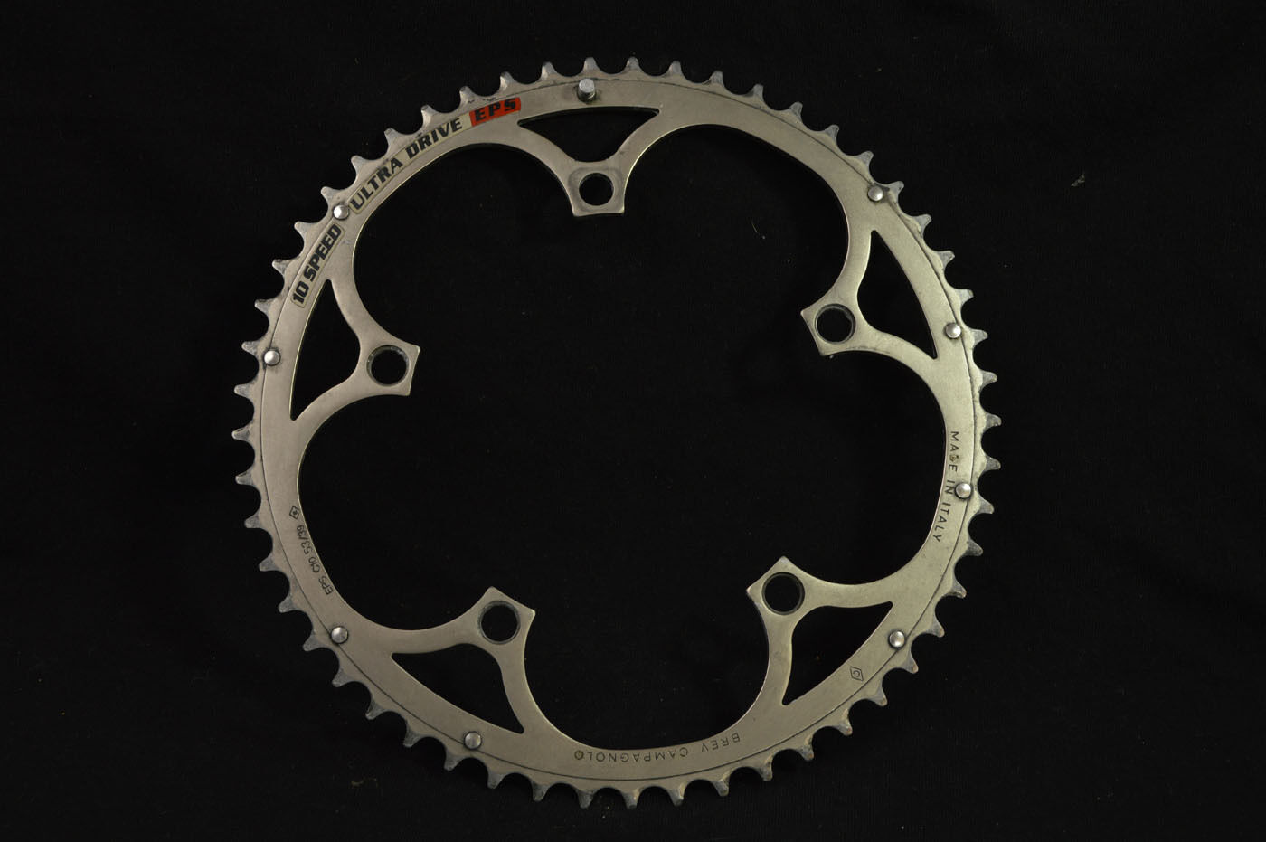 Chainring Campagnolo 10 speed ultra drive EPS alloy 53t  bcd-135