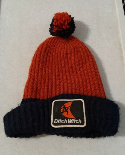 Rare Ditch Witch Patch Stocking Hat