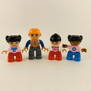 Lego-DUPLO-FIGURE-LOT-Of-4