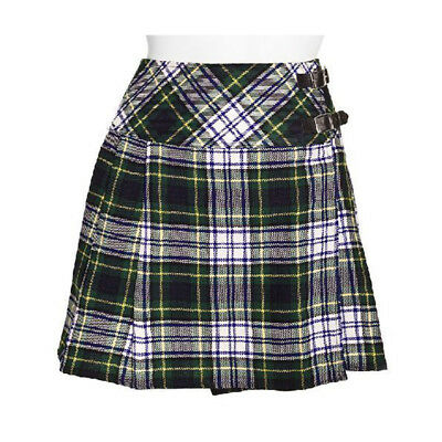 "FäHig New Ladies Hen Do Billie Kilt In Dress Gordon - 16"" Length - Free Kilt Pin! Eine GroßE Auswahl An Modellen"