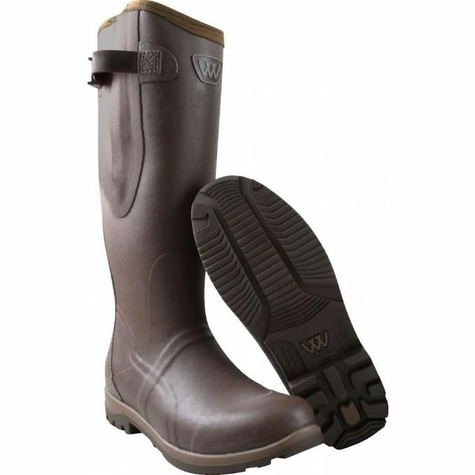 Woof Wear Riding Welly - Chocolate braun