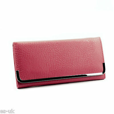 Womens / Ladies / Girls Fashion Purse; Bi-fold; Inner Zip Synthetic Multi Colour