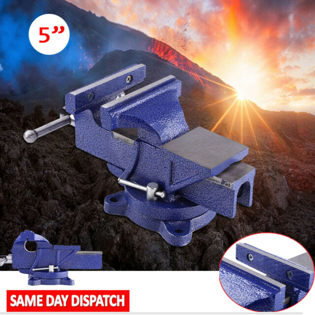 Miraculous Long Life 6Kg Vise Clamp Milling Metalworking Vice 5 Work Bench Swivel Base Uk Pabps2019 Chair Design Images Pabps2019Com