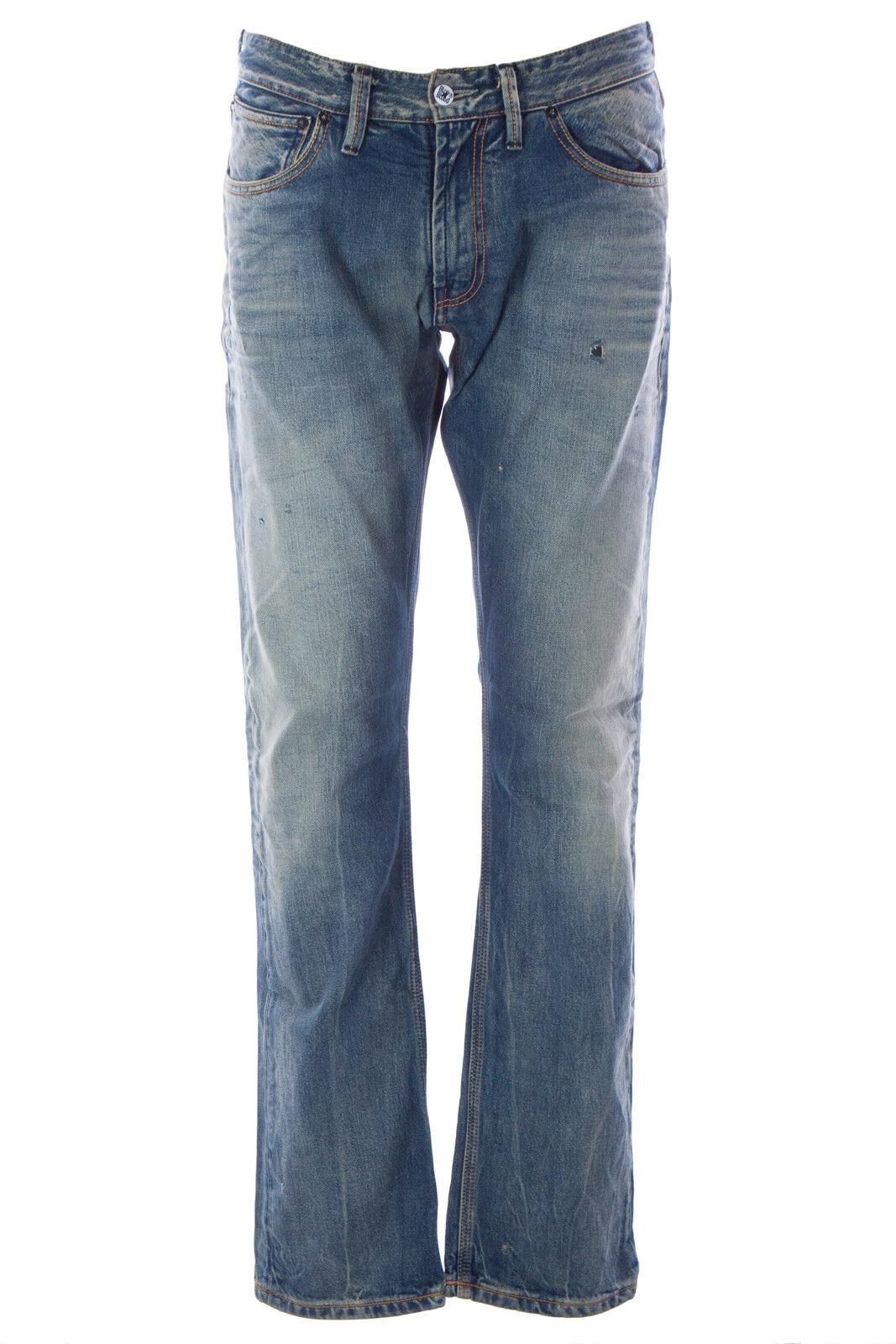 Blau Blood Herren Aim Abd Distressed Jeans MS08D01 Nwt       Neues Design    Professionelles Design    Räumungsverkauf