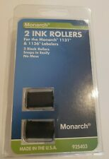 Monarch 2 Pack Black Ink Rollers Use With 1131 Amp 1136